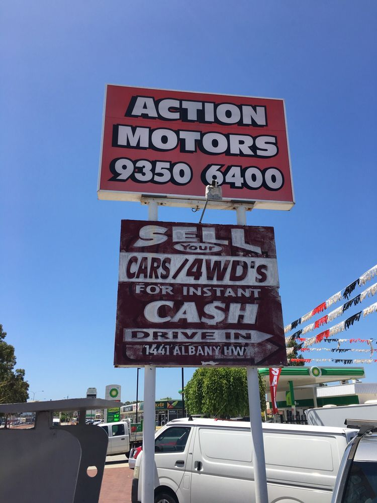 Action motors car dealers 1439 1441 albany hwy for Deal motors clinton hwy
