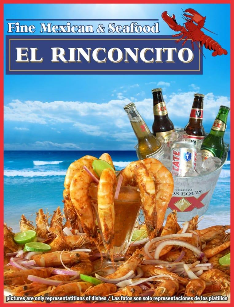 Rinconcito Mexican Food Vista Menu