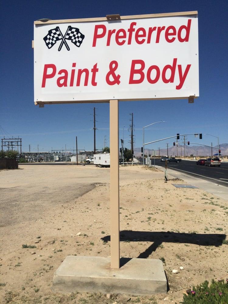 Preferred Paint & Body: 825 W Ridgecrest Blvd, Ridgecrest, CA