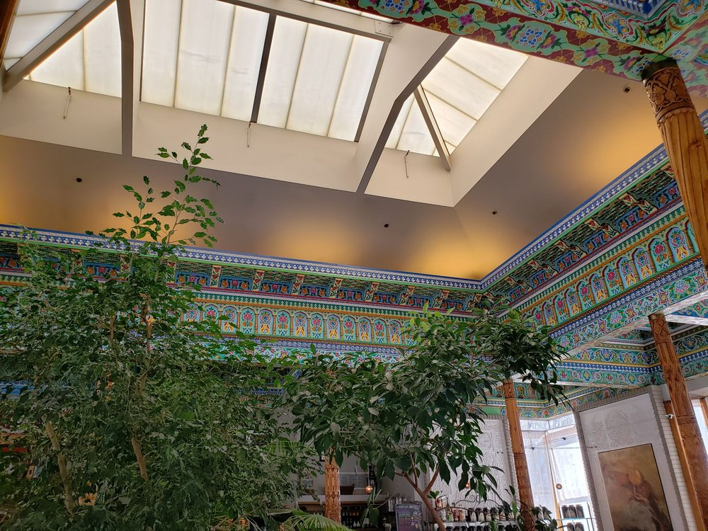 Ceiling Of Boulder Dushanbe Teahouse Yelp