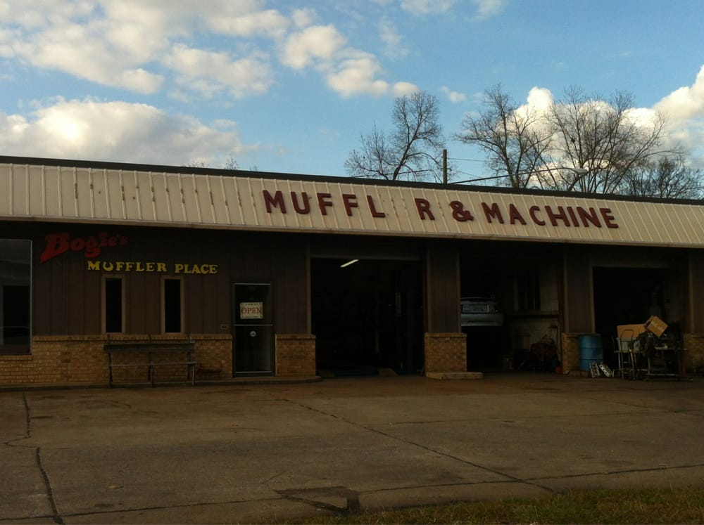Bogie's Muffler-Machine: 602 3rd St NW, Attalla, AL