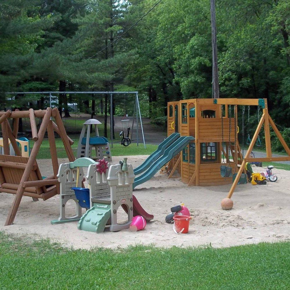 Iola Pines Campground: 100 Fairway Dr, Iola, WI