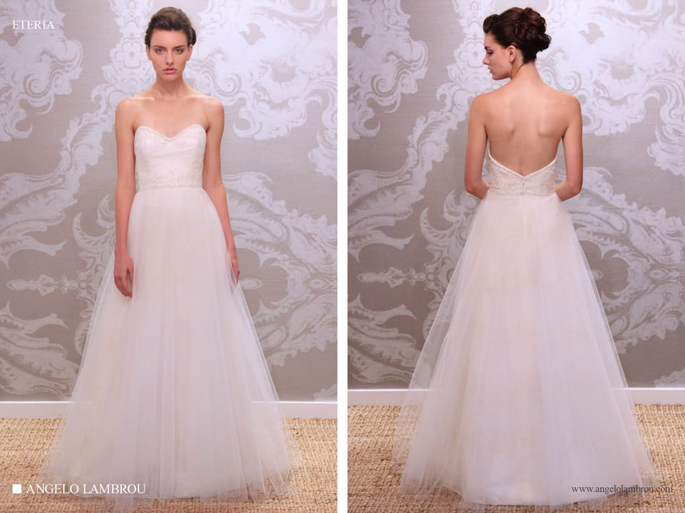 Wedding Dress Ping Nyc Yelp : New york ny united states eteria couture wedding gown by angelo