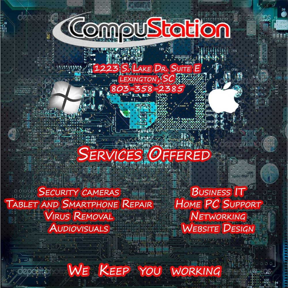 CompuStation: 1223 S Lake Dr, Lexington, SC