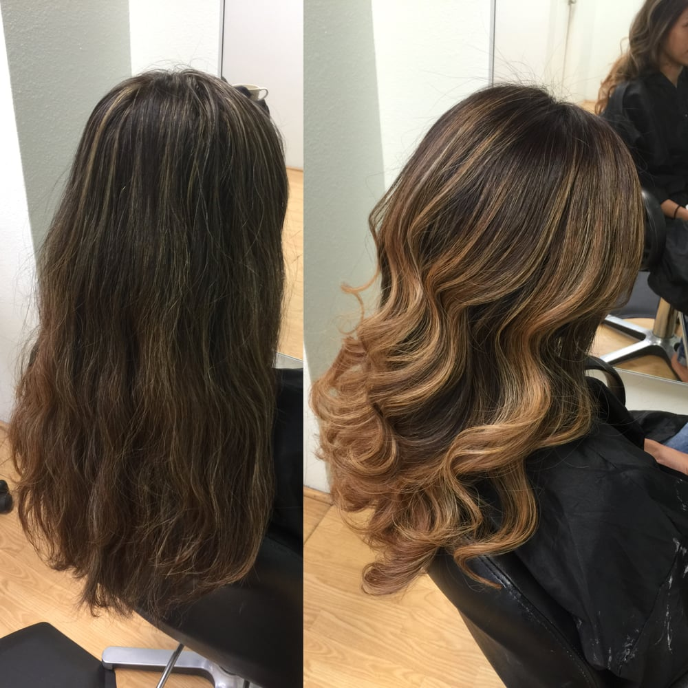 . Redlands Hair Stylist Color Correction Foil Highlighting Ash Dark ...
