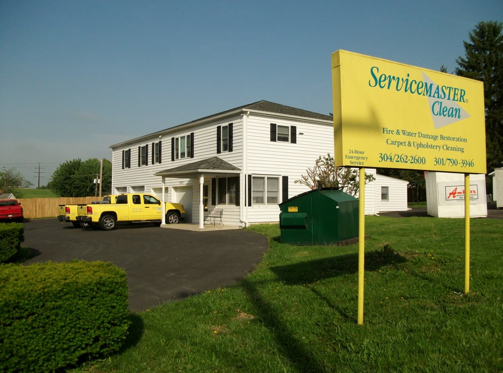 ServiceMaster of Martinsburg & Hagerstown: 10477 Williamsport Pike, Falling Waters, WV