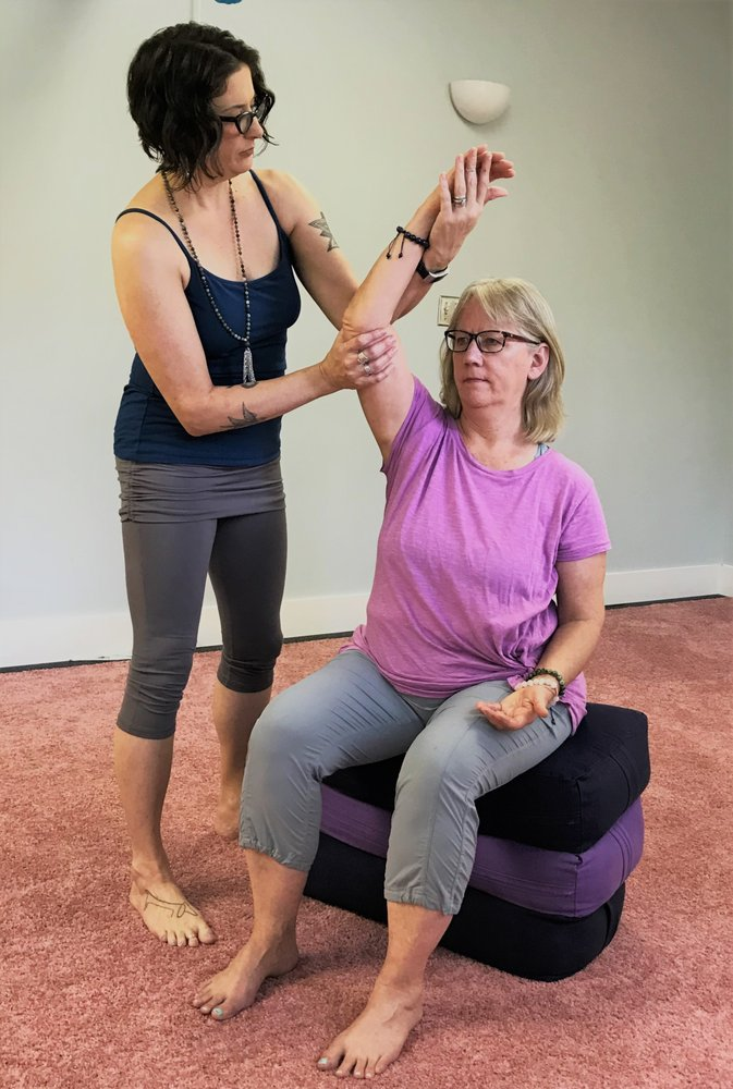 Yoga Therapy With Cheryl Fenner Brown: Bahama, NC