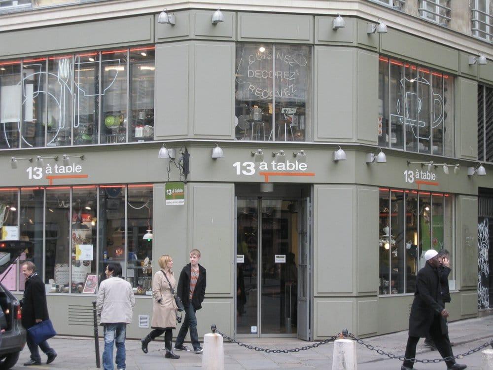 13 table specialty food 34 rue de rivoli marais for 13 a table paris