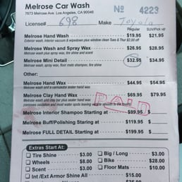 Photos for Melrose Strip Auto Detailing - Yelp