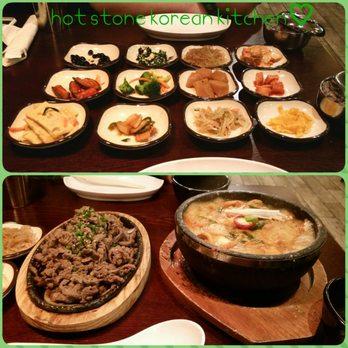 Hot Stone Korean Kitchen Menu