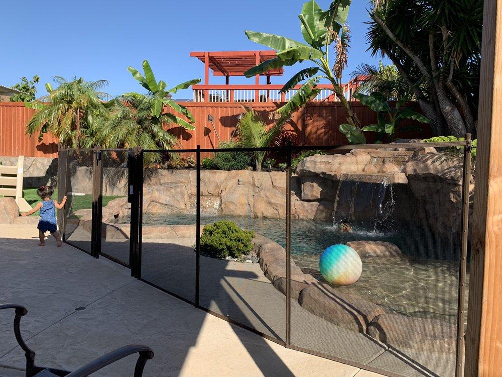 Viking Pool Fence
