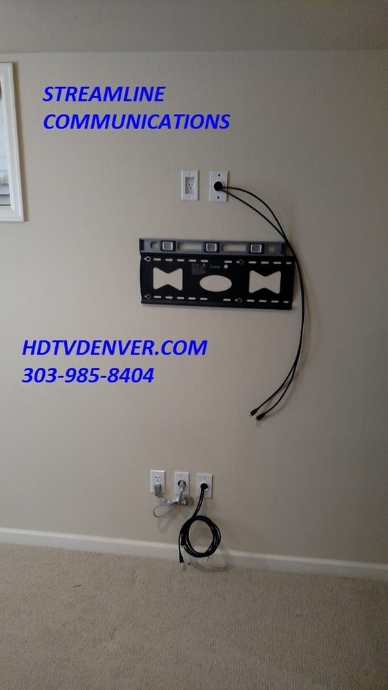 tv wall mount install av prewire retrofit cabling wiring rh yelp com wiring tv antenna wall socket wiring tv wall socket