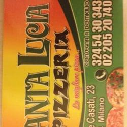 Pizzeria Santa Lucia - Pizza - Via Felice Casati 23, Stazione ...
