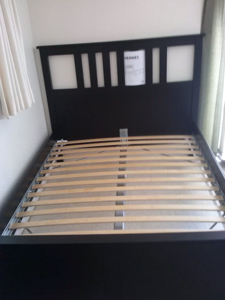 hemnes queen bed assembly instructions