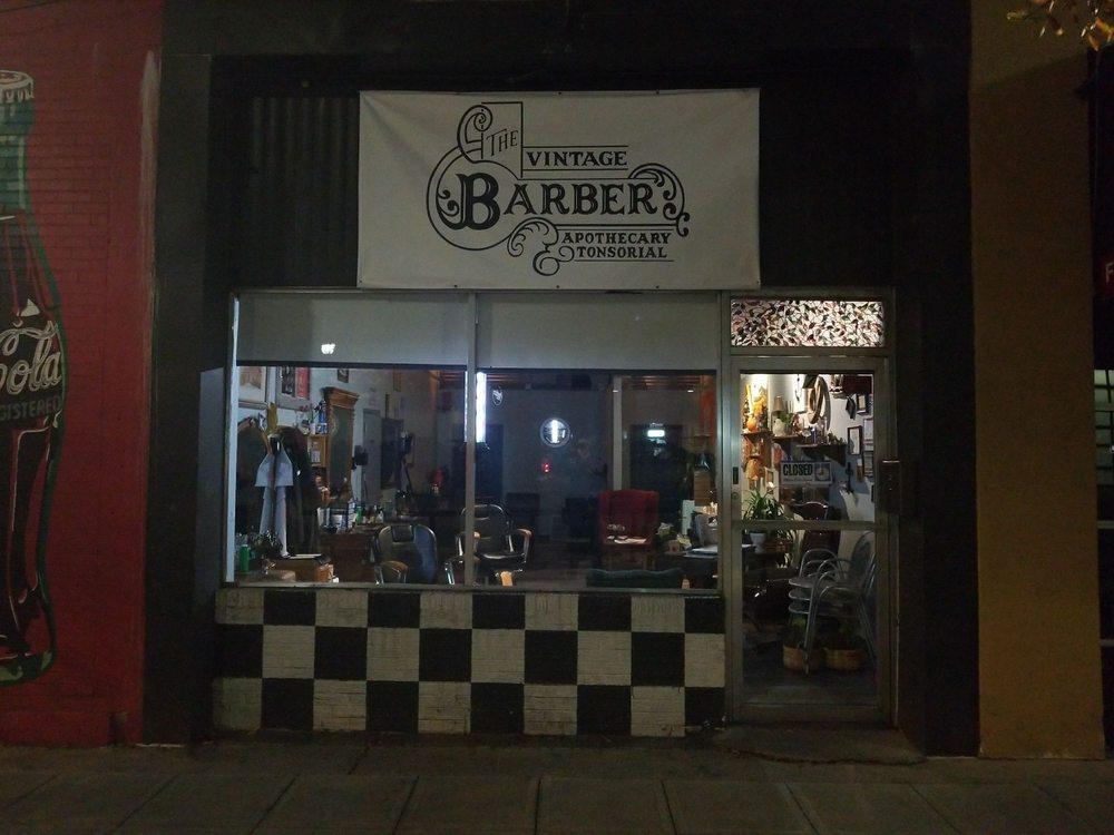 The Vintage Barber: 7 W Washington St, Greenville, SC