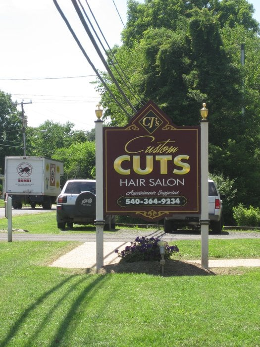 Cj's Custom Cuts: 8482 W Main St, Marshall, VA