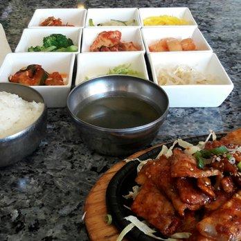 Photo Of Banseok Jeong Korean Bbq Dublin Ca United States Spicy Pork