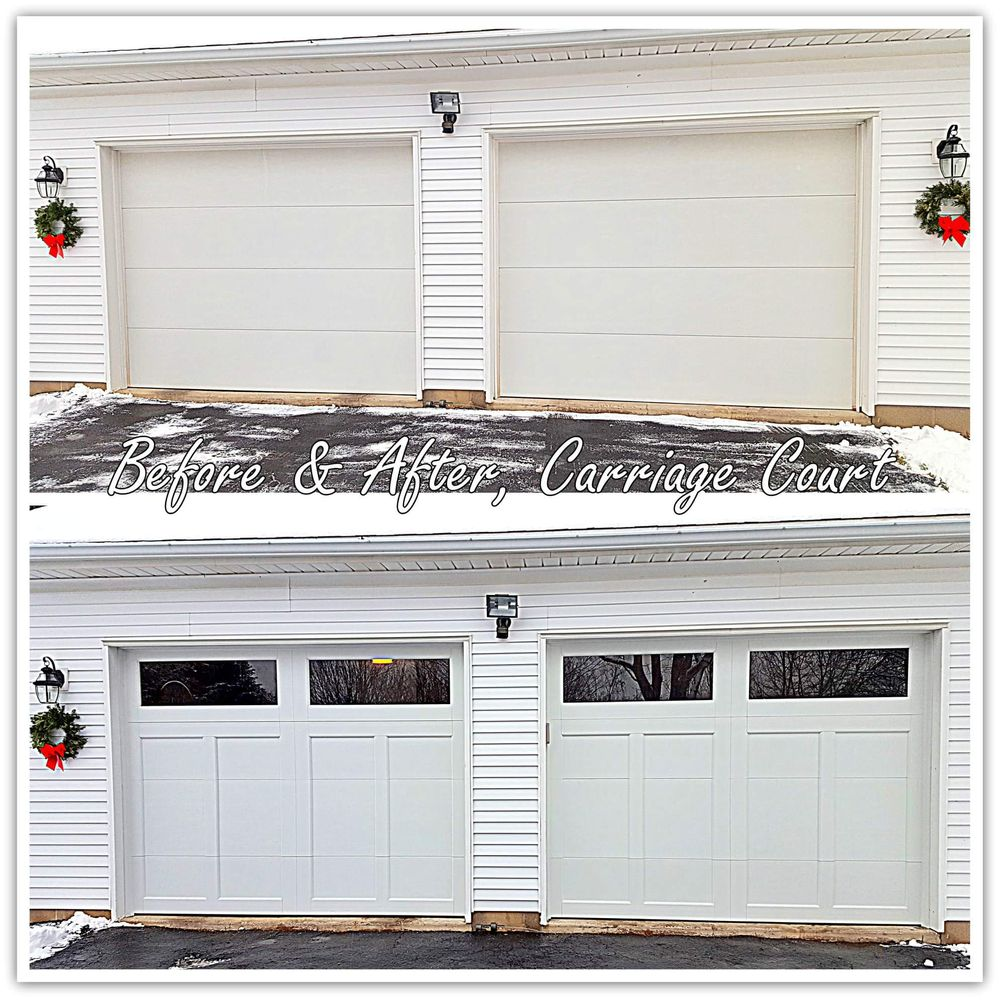 Well Hung Garage Door