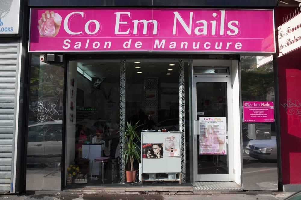 Co em nails nail salons 11 me paris france for Hair salon paris france