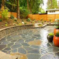 Photo Of Solstice Landscape Design   Seattle, WA, United States. Iron  Mountain Flagstone. Iron Mountain Flagstone Patio