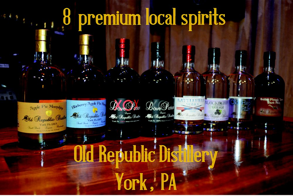 Old Republic Distillery: 1327 N Duke St, York, PA