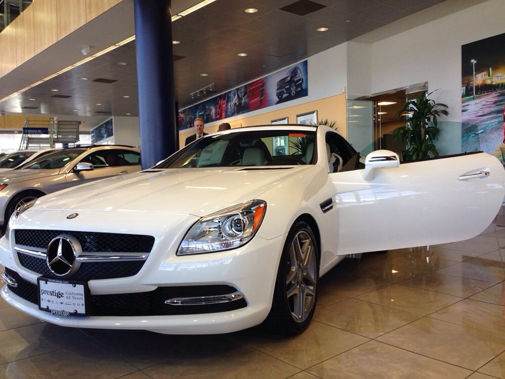 Most likely leasing this beauty from a different mb for Prestige mercedes benz paramus nj