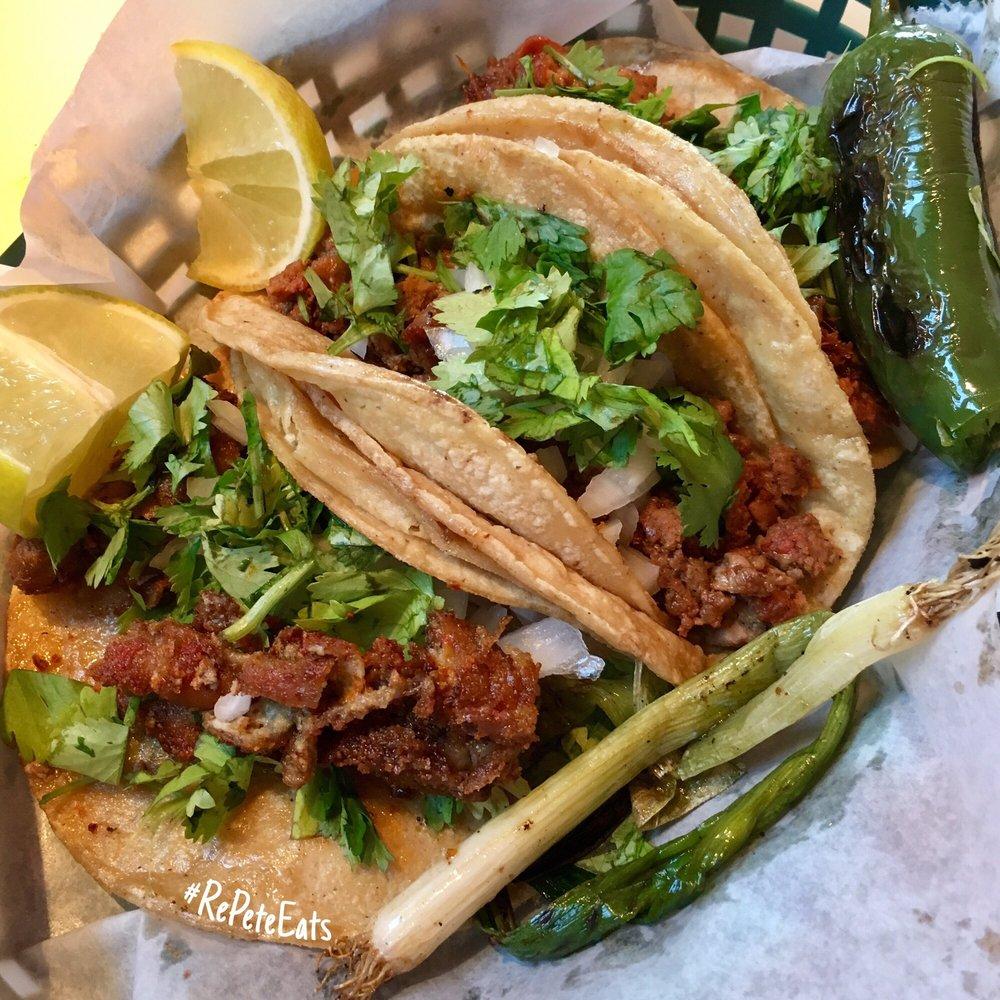 Food from El Alamo Mexican Grill