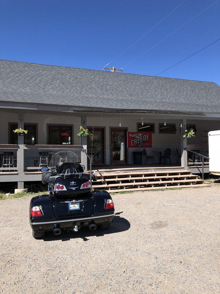 Mj's Cafe: 801 La Garita St, Creede, CO
