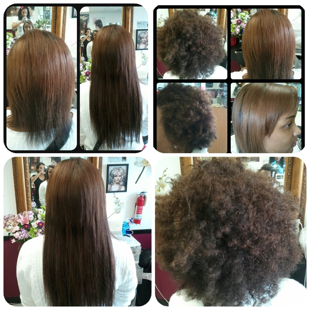 Keratin Treatment Natural Hair And Clip In Hair Extensions Yelp