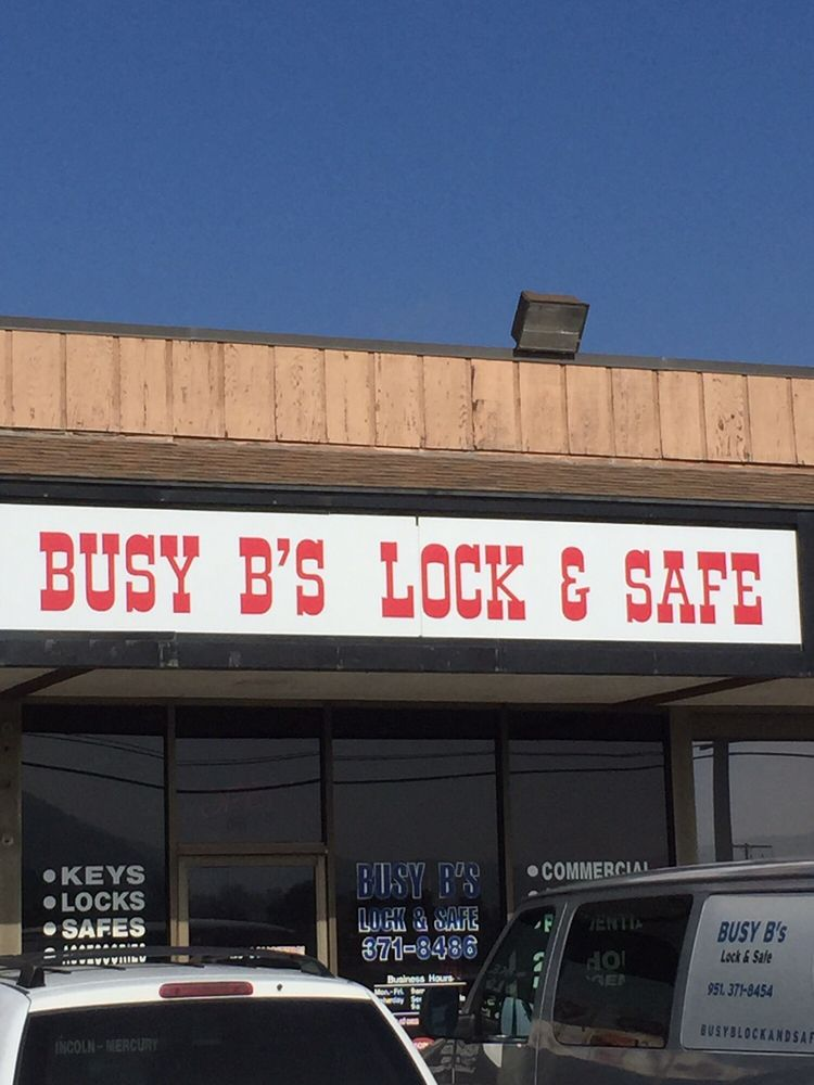 Busy B's Lock and Safe: 2654 Hamner Ave, Norco, CA