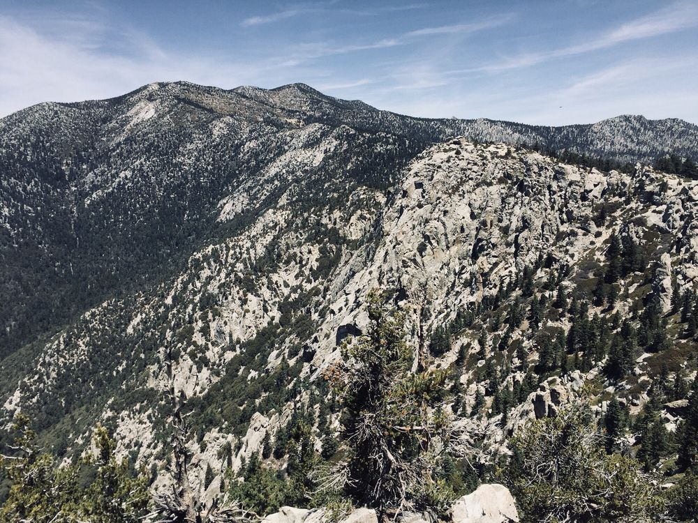 Photo of Tahquitz Peak via Devil's Slide Trail - Idyllwild-Pine Cove, CA, United States. Views near the last .2 miles