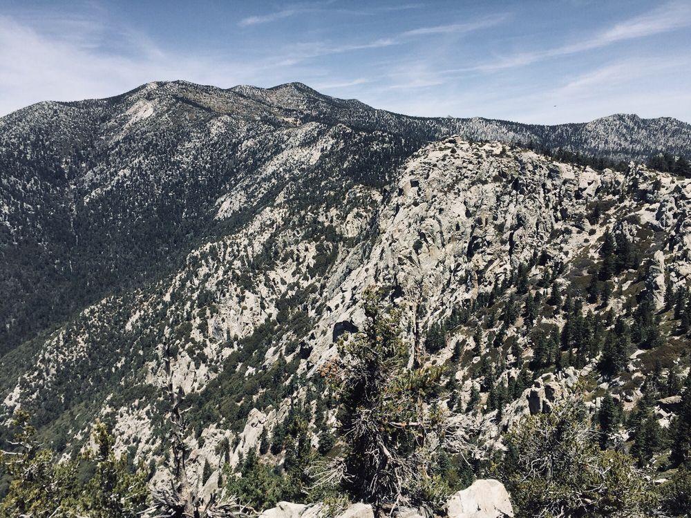 Photo of Tahquitz Peak via Devil's Slide Trail - Idyllwild-Pine Cove, CA, United States. Views near the last .2 miles