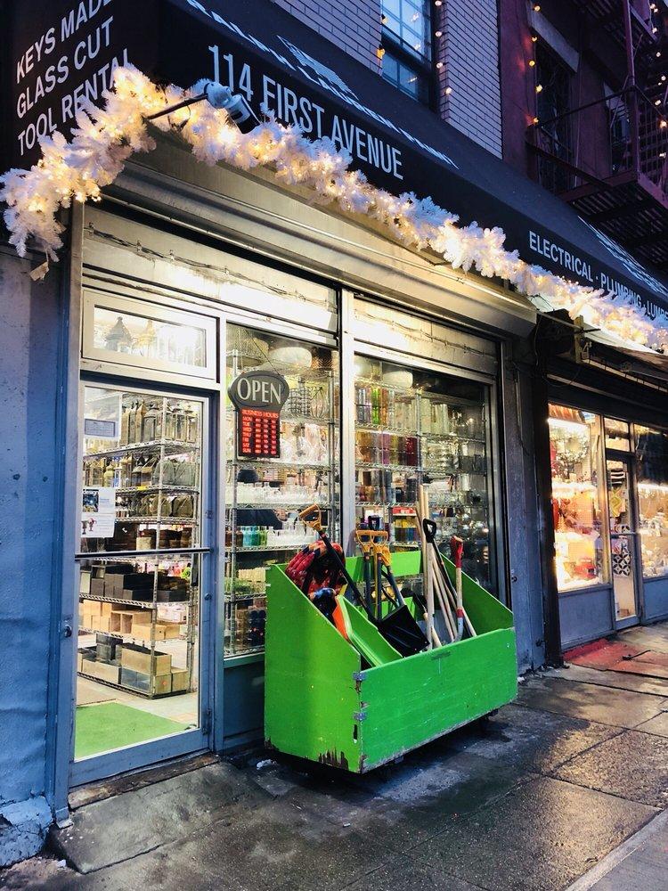 Saifee Hardware & Garden: 114 1st Ave, New York, NY