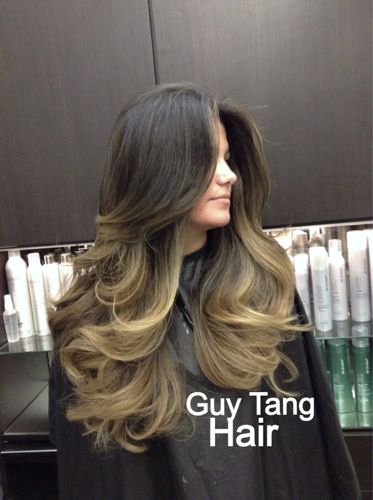 High contrast ombr by guy tang on latina hair yelp for Adda beauty salon cartierul latin