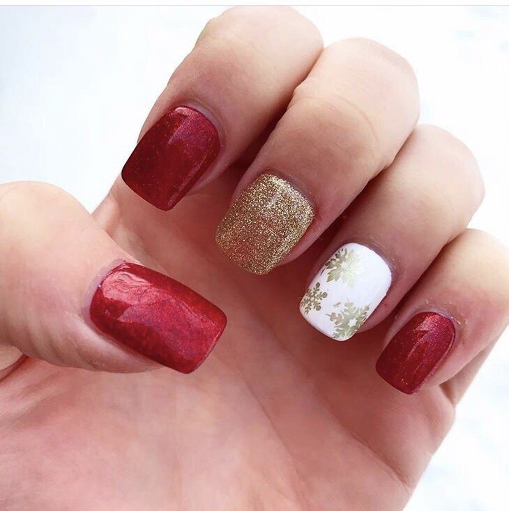Holiday nails by Krista - Yelp