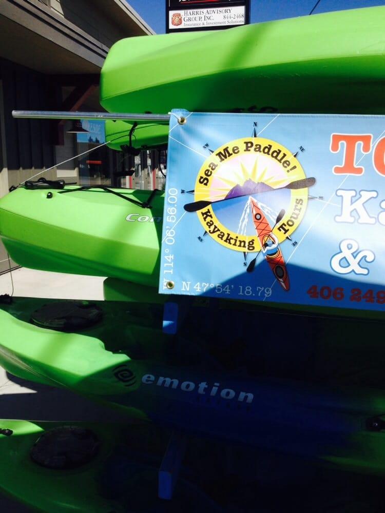 Sea Me Paddle: 7220 Hwy 93 S, Lakeside, MT