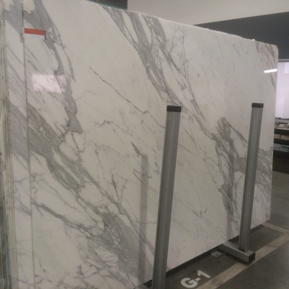 Photo Of Stoneland North Hollywood Ca United States Calacatta Marble Slab For