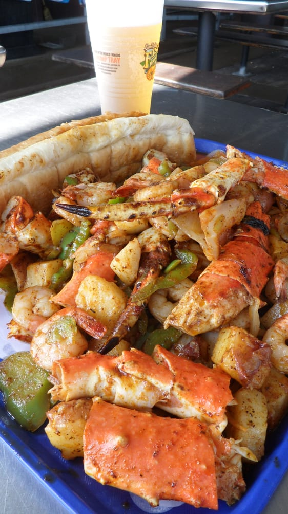 How absolutely delicious alaskan king crab clean de for San pedro fish market and restaurant