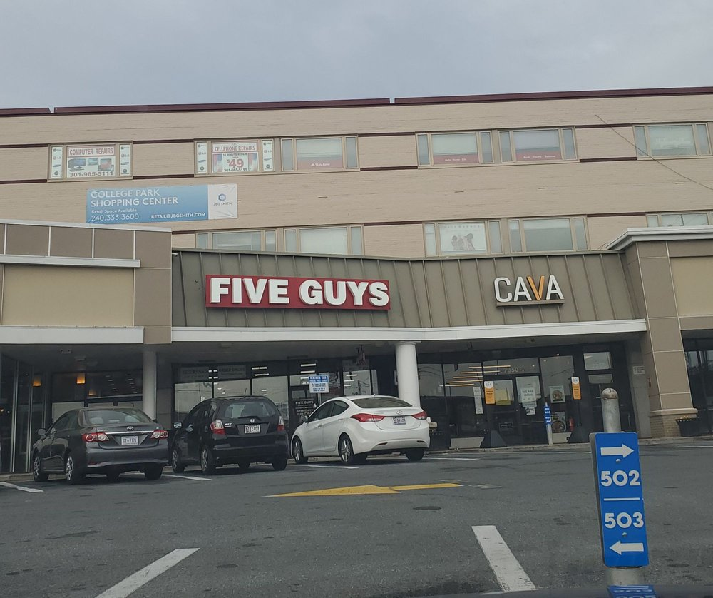 College Park Shopping Center: 7370 Baltimore Ave, College Park, MD
