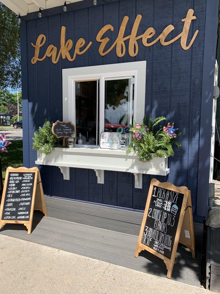Lake Effect Shave Ice: 207 Main St, Frankfort, MI