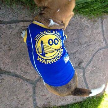 best website 575e5 faa19 golden state warriors jersey for dogs
