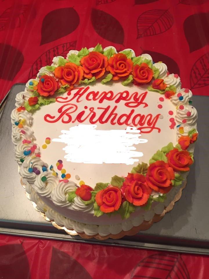 2017sept Mango Birthday Cake Delicious Beautifully Decorated