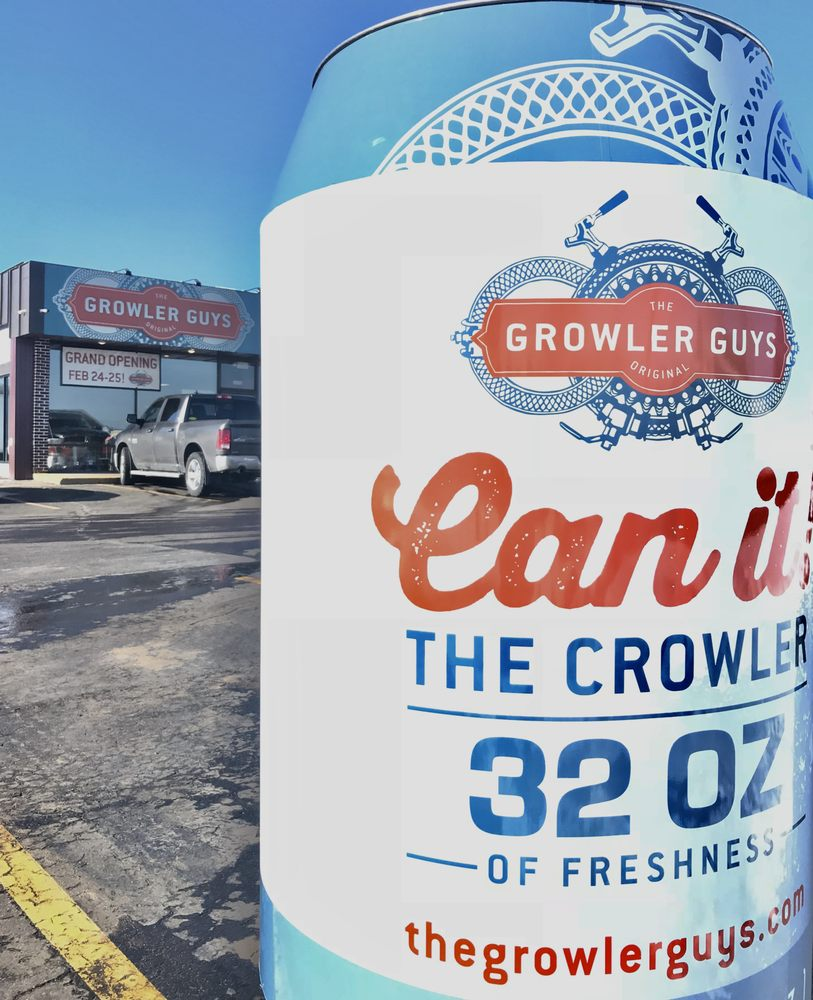 The Growler Guys: 2832 London Rd, Eau Claire, WI