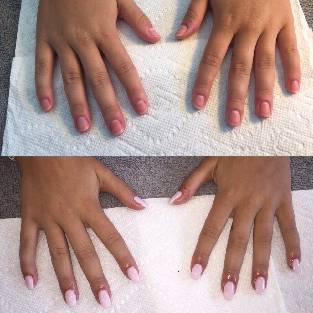 Photo Of Salon Savoy Austin Tx United States Sns Nails Before And