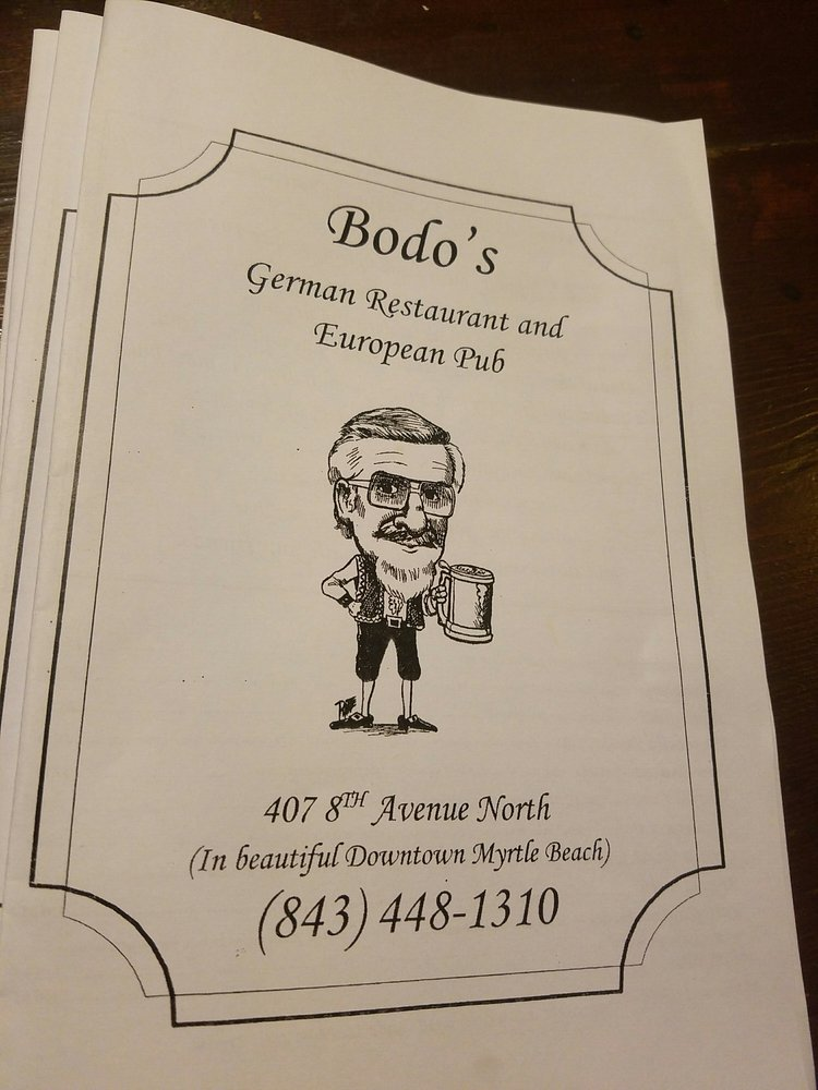 German Restaurant Near Myrtle Beach Sc