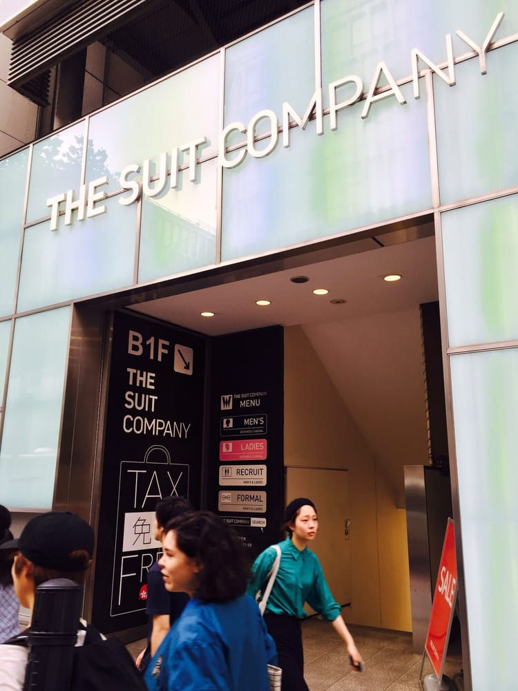 The Suit Company Shibuya