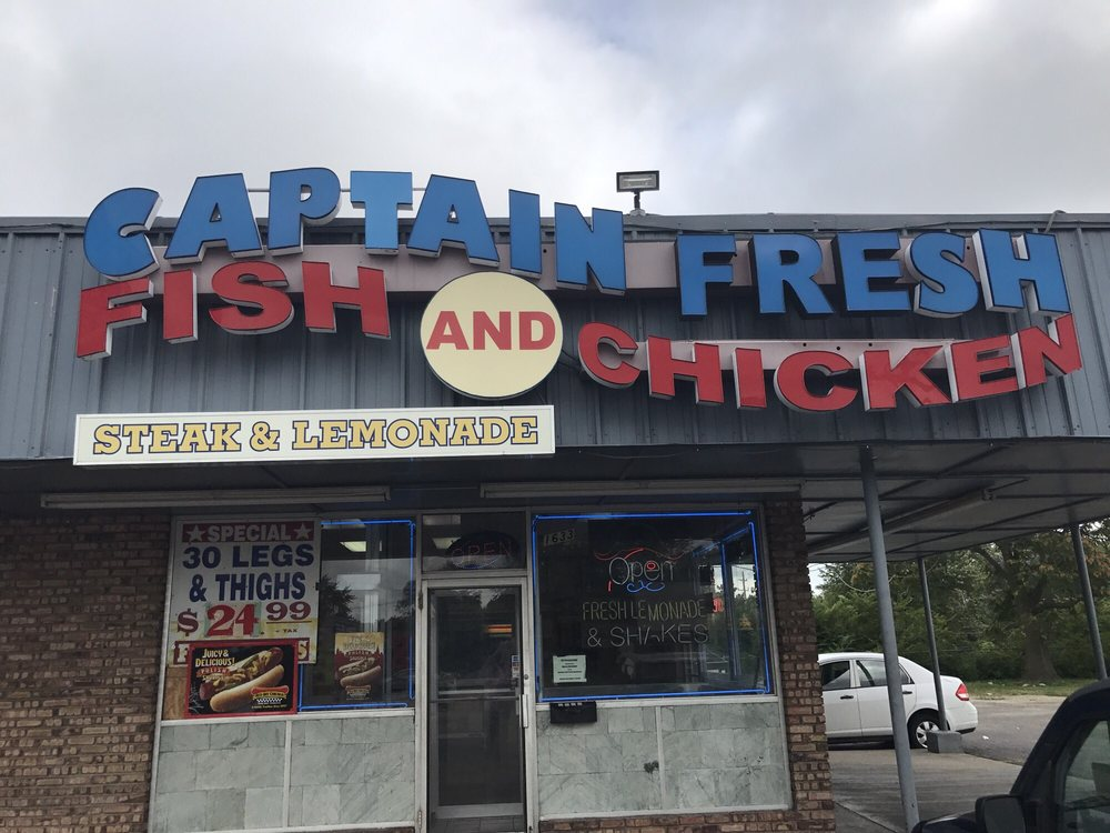 Inauspicious but plain delicious yelp for Captain hooks fish and chicken