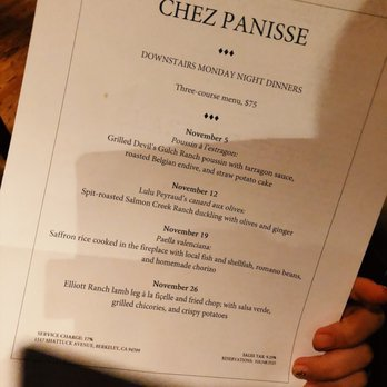 chez panisse cafe reservations
