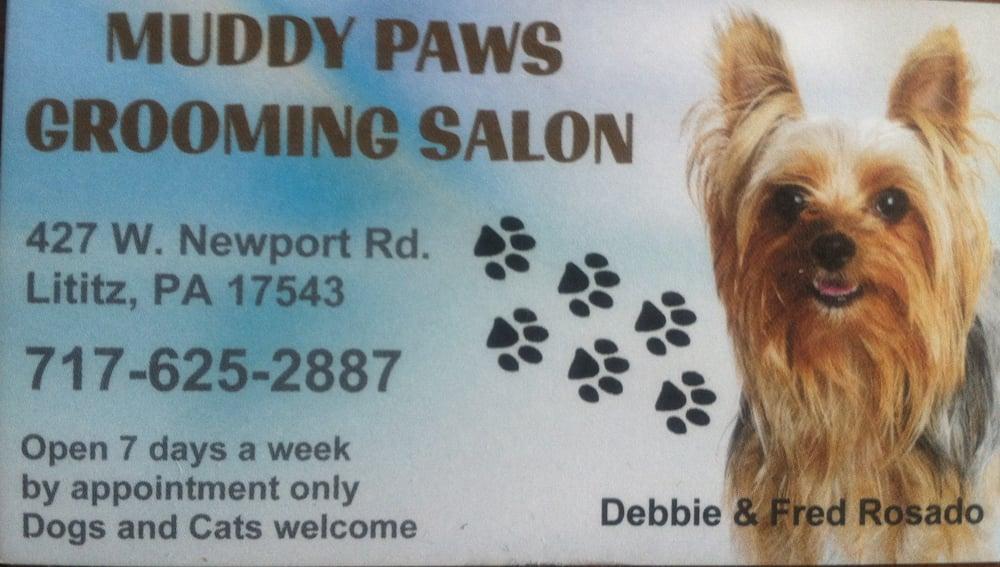 Muddy Paws Grooming Salon: 427 W Newport Rd, Lititz, PA