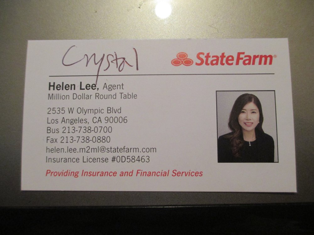 Helen Lee - State Farm Insurance Agent   2535 W Olympic Blvd, Los Angeles, CA, 90006   +1 (213) 738-0700